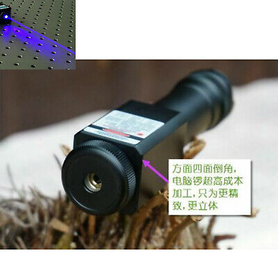 Focusable Waterproof 450nm Blue Laser Pointer Led Torch Powerful 450t-2000-18650
