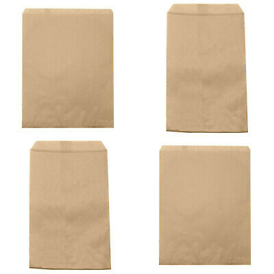 Paper Favor Bags (Kraft Paper Bags Brown Merchandise Party Favors Gift Candy Jewelry Package Lot)