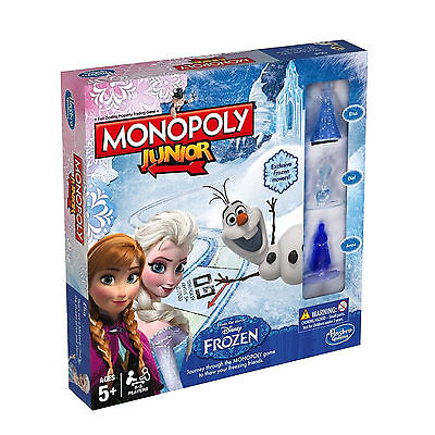 DISNEY FROZEN JUNIOR MONOPOLY 5+ BRAND NEW GREAT GIFT 2-3 PLAYERS for sale  Shipping to Ireland