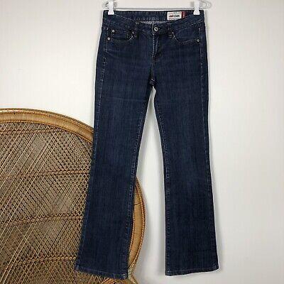 JAG Jeans Denim Blue Size 9 Mid Rise Reg Fit Boot Cut