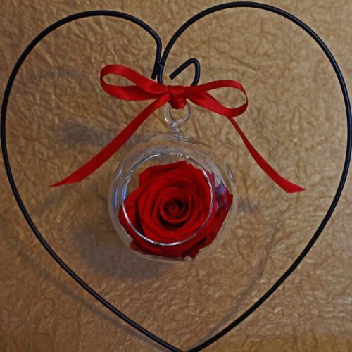 The Scarlet Rose Ornament