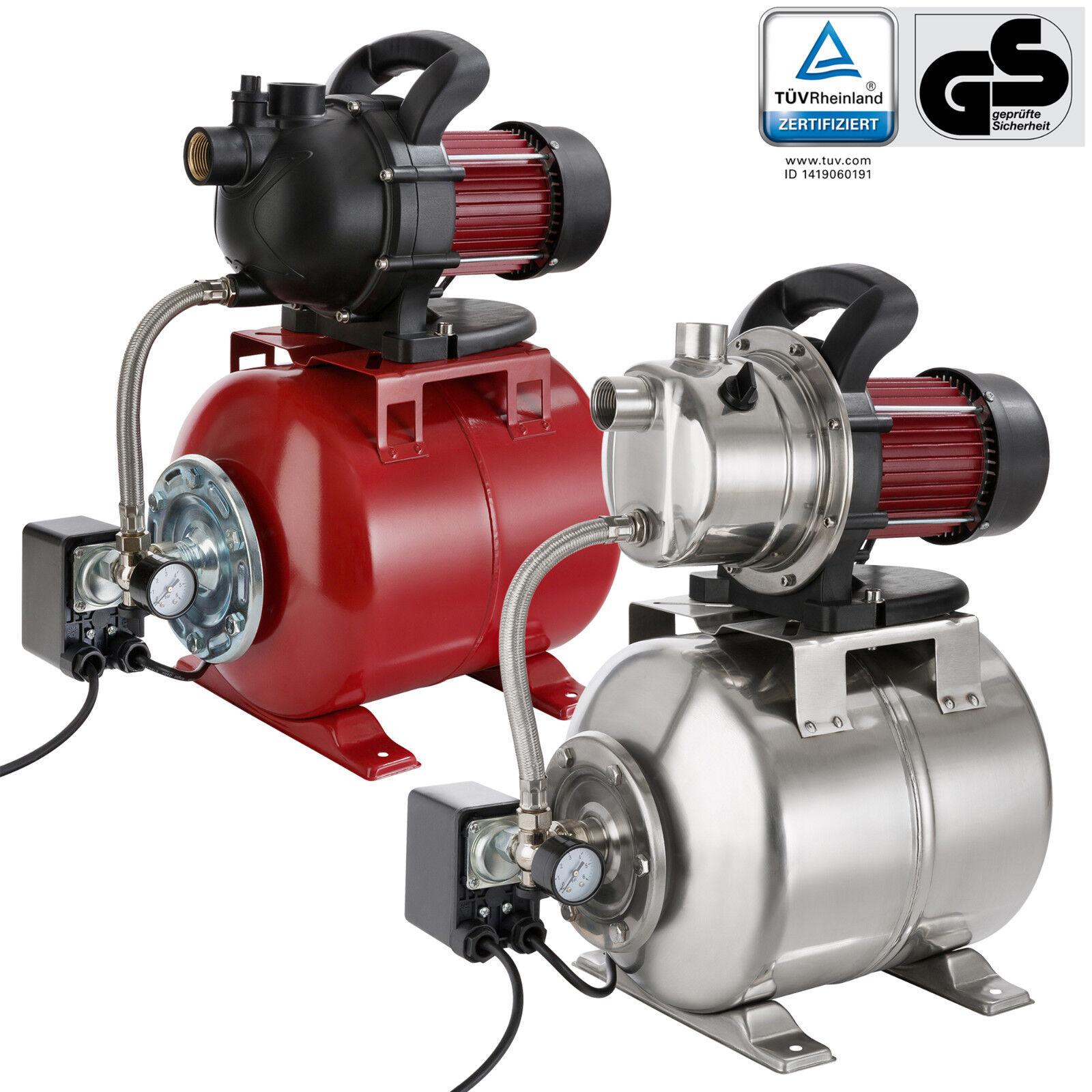 AREBOS Hauswasserwerk Gartenpumpe Wasserpumpe Pumpe 1000W /1200W 3500 - 3800 l/h