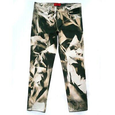 $424 NEW 424 ON FAIRFAX x ARMES Bleached Green Denim Jeans Pants vlone 33