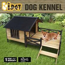 Extra Large Pet Dog Kennel House with Patio Wooden Timber Bed Adelaide CBD Adelaide City Preview