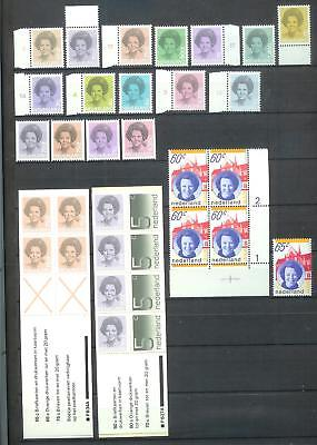 Nederland Netherlands Beatrix stamps MNH