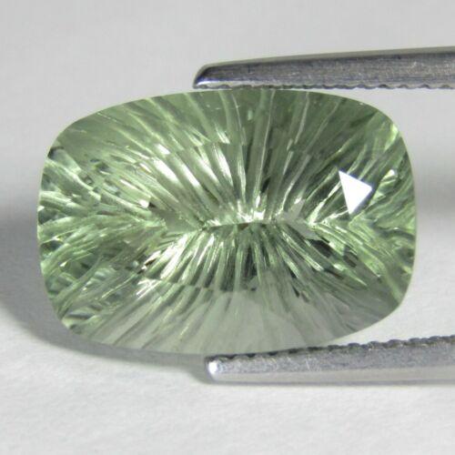 8.85Ct Graceful Natural Green Amethyst-prasiolite- Cushion Cut Loose Gem Ref VDO