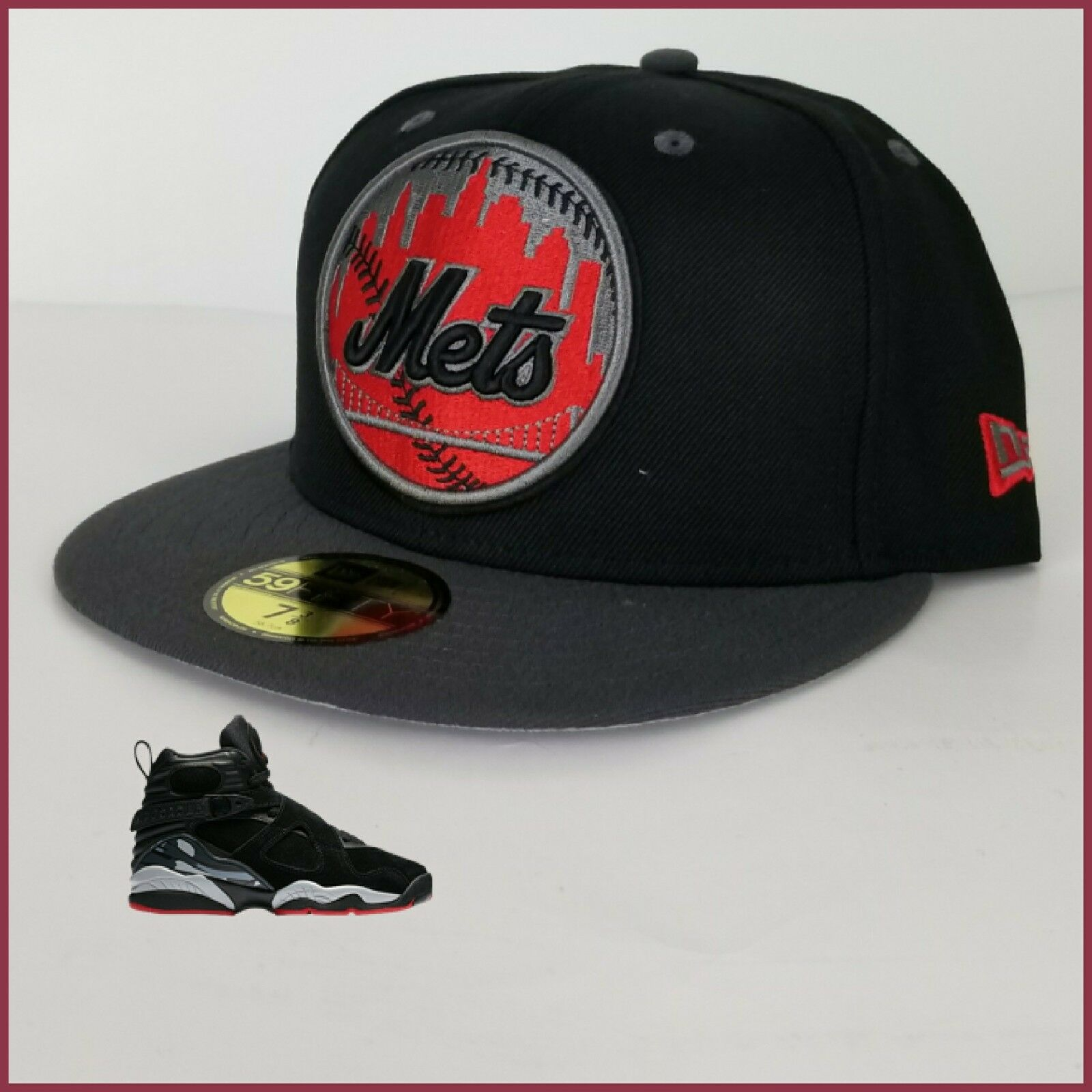 75cdf2a434e ... coupon code for new era ny mets 59fifty fitted hat for jordan 8 cement  63ecd c4500