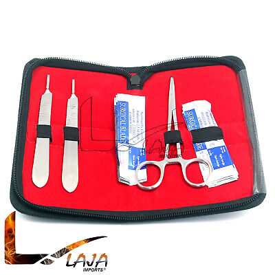 Dermaplaning Cleaning Kit - Scalpel Blades 22 10 And 11 With Handle