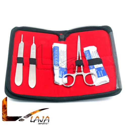 Dermaplaning Cleaning Kit - Scalpel Blades #22, 10 and 11 with Handle