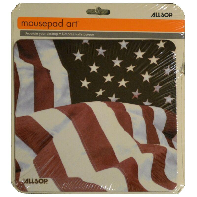 Computer Mouse pad  American Flag Mousepad 8x9