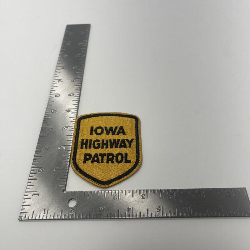 Iowa Police Patch, Iowa Highway Patrol Patch IA