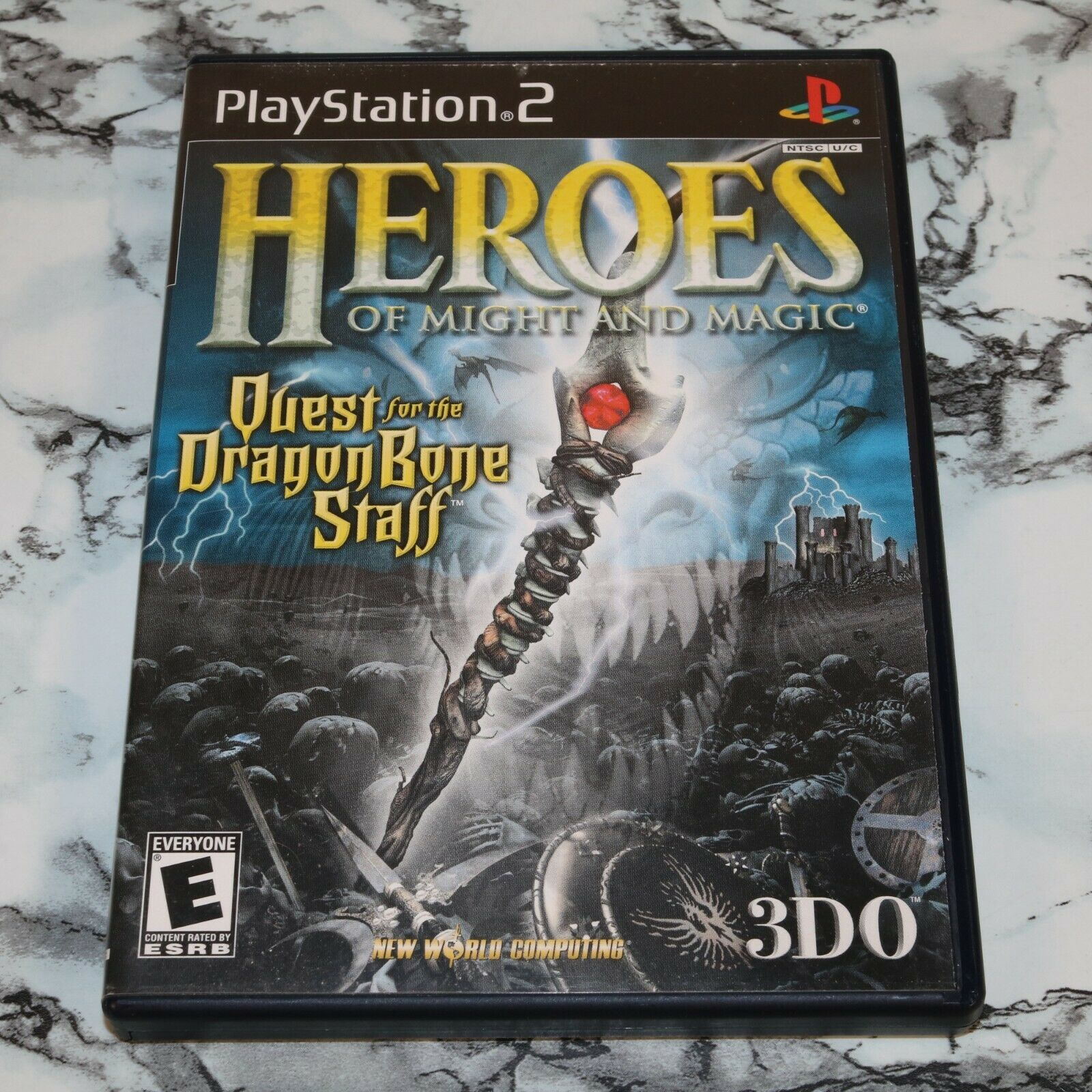 Heroes Of Might And Magic - Quest For The Dragon Bone Staff Sony PlayStation 2  - $11.18