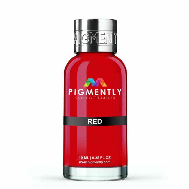 Red Liquid Epoxy Pigment Resin Dye Premium PIGMENTLY Colors Free Shipping