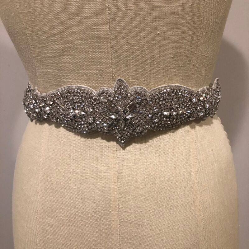 Giavan stunning Diamond and crystal bridal sash