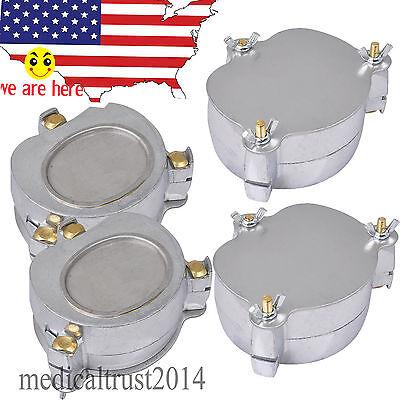 4sets Us Stock Dental Aluminium Denture Flask Press Compress Compressor
