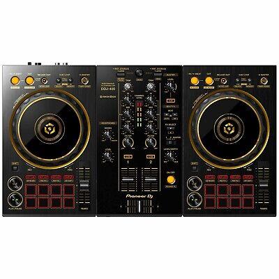 Pioneer Limited Edition DDJ-400 2-Channel rekordbox Software DJ Controller Gold