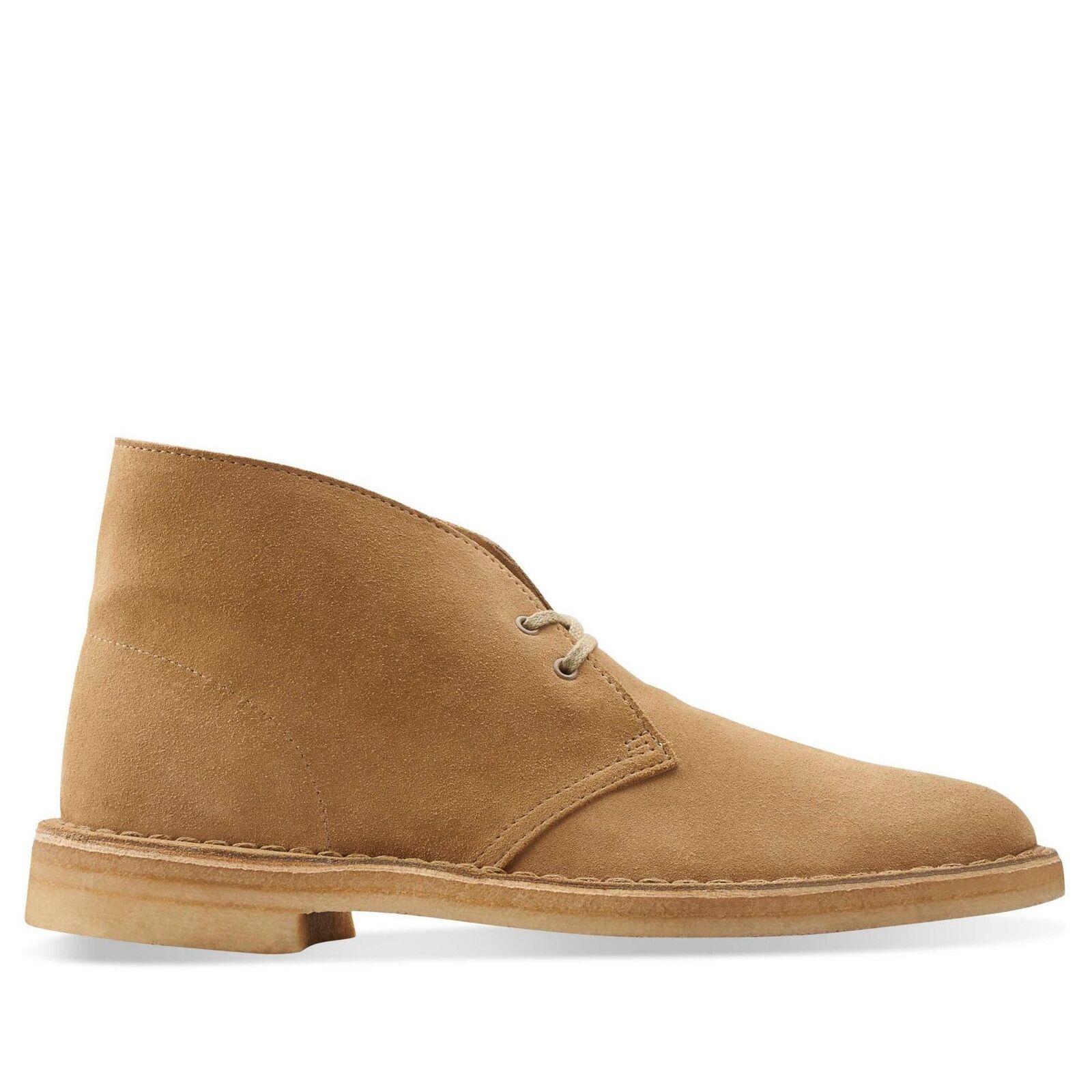 Clarks Mens Desert Boots Oakwood Suede 26110058 10 For Sale Online