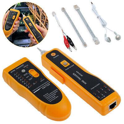 Rj45 Rj11 Wire Tracker Set Phone Network Cable Tester Line Finder Toner Tracer