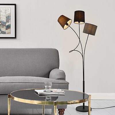 [lux.pro] Stehleuchte 146cm Stehlampe Standleuchte Stand Lampe Metall 3 flammig