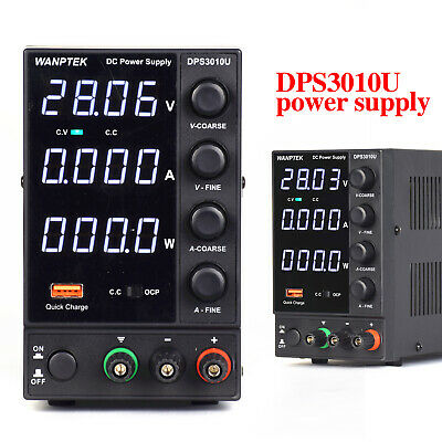 Lab Dc Bench Power Supply Variable 0-30v0-10a Adjustable Switching Regulated