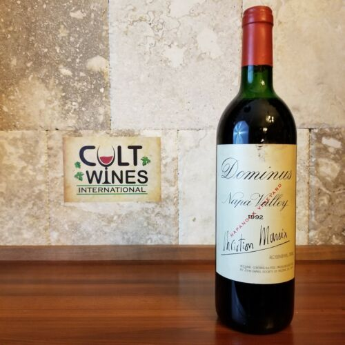 RP 95 pts! 1992 Dominus Estate Napa Valley Bordeaux Blend wine - Discounted