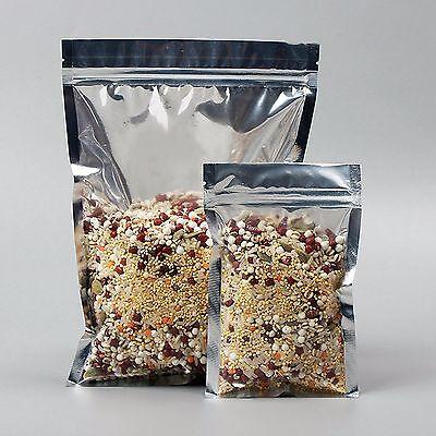 Transparent Aluminum Zip Lock Bag Zip Lock Smell Proof Bagsfood Storage Bags