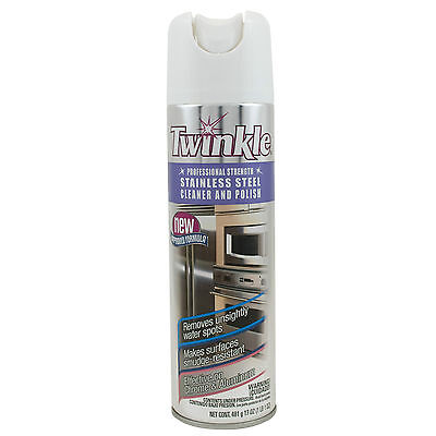 Twinkle Professional Strength Stainless Steel Cleaner & Polish - (Polish Professional Cleaner)