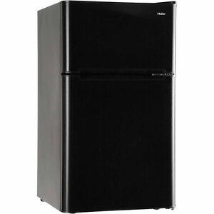 Compact 3.2 Cu Ft Refrigerator Mini Freezer 2 Door College Home Office Dorm  NEW