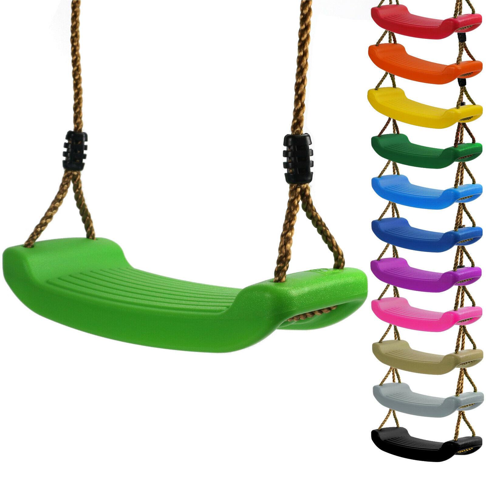 Kinderschaukel Brettschaukel stabil Schaukelsitz aus Kunststoff für Spielturm