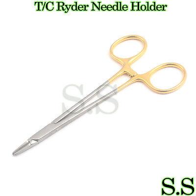 Tc Ryder Needle Holder Surgical Dental Instrument 5