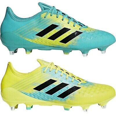 adidas Performance Mens Predator Malice Control Soft Ground Rugby Boots - Ground Rugby Boots