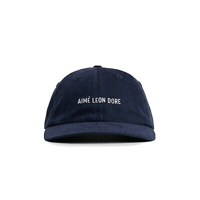 Aimé Leon Dore Brushed Nylon Hat SS21 Evening Blue Navy Aime Leon Dore Sold Out
