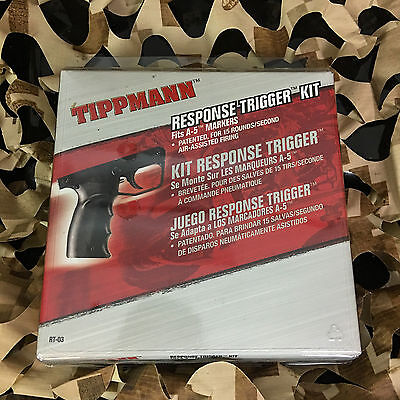 NEW Tippmann A5 RT Paintball Response Trigger Kit (RT-03)