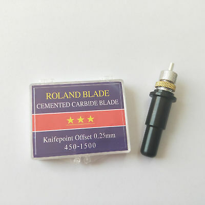 New Blade Holder11 3pcs Roland Cutting Blade 45 For Vinyl Cutter Plotter