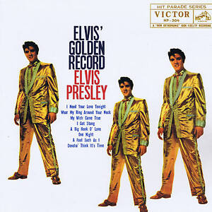 ELVIS PRESLEY - GOLDEN RECORD - 10