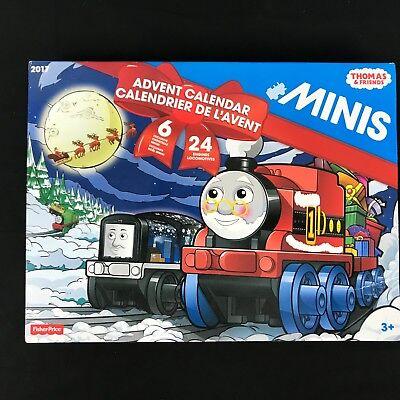 Thomas and Friends Advent Calendar 24 Minis Christmas - Brand New