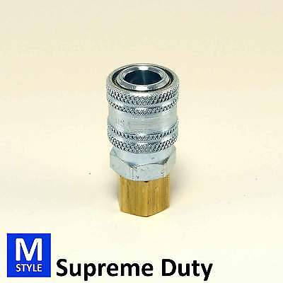 Supreme Duty Quick Coupler Built For Extreme Wear conditions Air Hose Fittings