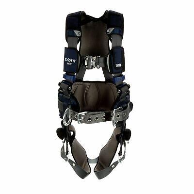 3m Dbi-sala Exofit Nex Plus Comfort Positioning Harness 1140182 - Med - Gray