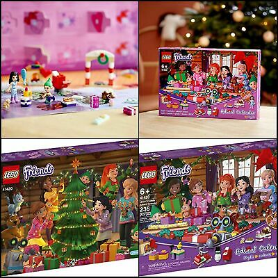 NEW LEGO Friends Advent Calendar Kids Advent Calendar with Toys 2020 236PCS