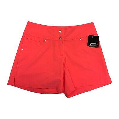 Slazenger Golf Mujer Missy Tech Pantalones Cortos Coral Carnaval Talla 0