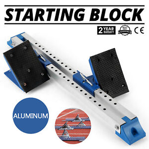 Athletics Scholastic Track Starting Block Champion Field Starting Block equinox