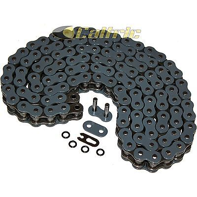 520 X 120 Links Motorcycle Atv Dark Grey O-Ring Drive Chain 520-Pitch 120-Links
