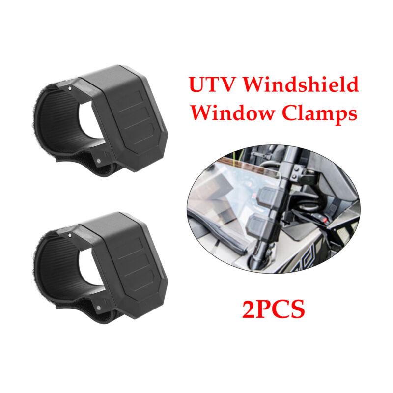 UTV Universal Windshield Window Clamps for Polaris RZR XP Ranger Can am 3 Pair