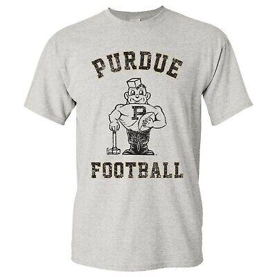 Vintage Purdue Pete Football Arch T-Shirt, Purdue Boilermakers Vintage -