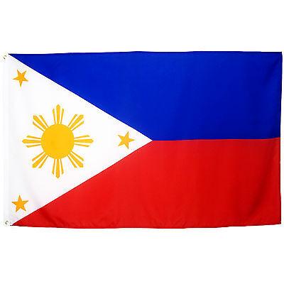 Fahne Philippinen 90 x 150 cm philippinische Flagge Nationalflagge
