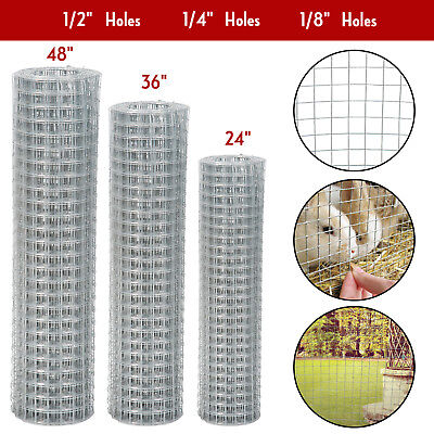 """24"""" 36"""" 48"""" Galvanized Welded Wire Mesh Hardware Cloth Safeguard Fencing"""