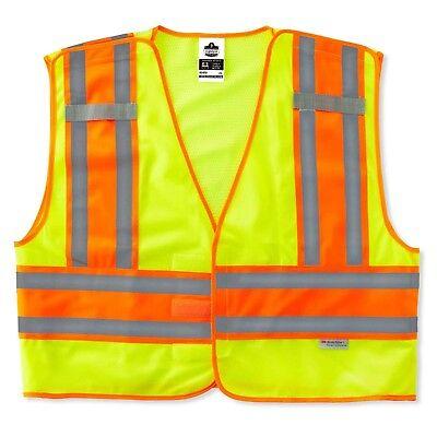 Glowear Public Safety Vest (Ergodyne GloWear 8245PSV ANSI High Visibility Breakaway Public Safety Vest )