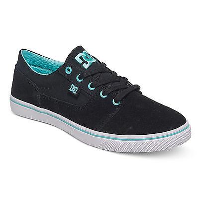 Dc Damen Schuhe (DC - Tonik W - Low Top Schuhe Black/Aqua (ba2) Damen Skateschuh Sneaker)