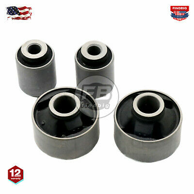 4-FRONT LOWER CONTROL ARM BUSHING FOR SUBARU LEGACY IMPREZA FORESTER XV 05-17 US