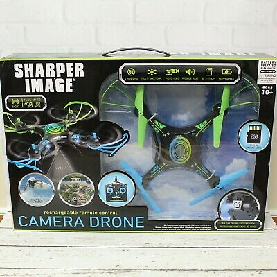 Sharper Concept Remote Control Rechargeable Camera Drone SD Card Included NIB